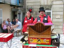 Les Ch'tis Baladins au festival de Plombières les Bains